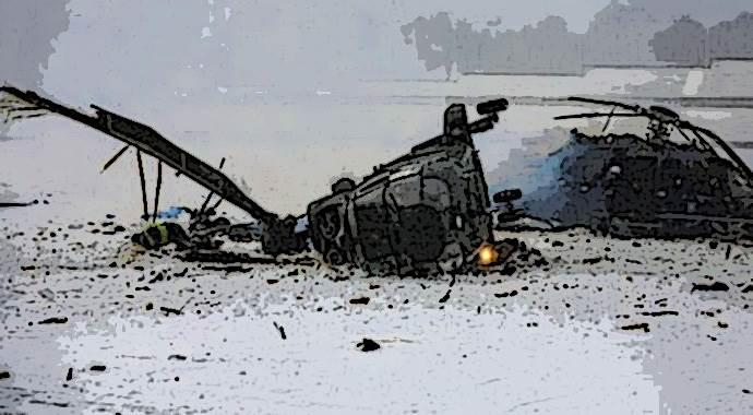 Slovakya'da helikopter düştü, 6 ölü var