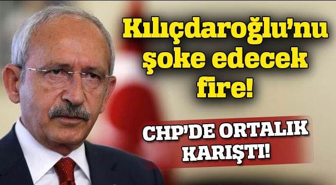 CHP'de Kılçdaroğlu'nu çok şaşırtacak fire!