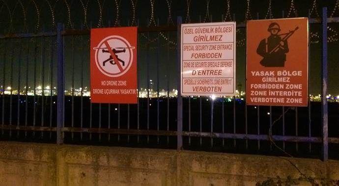 Atatürk Havalimanı'nda yine drone lehvası