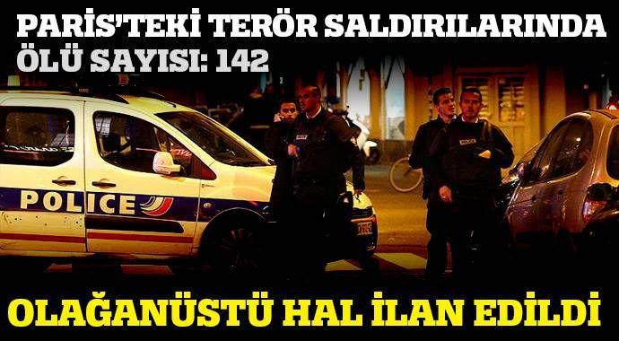 Paris'te terör saldırısı: Ölü sayısı 142'a yükseldi (PARİS HABERLERİ - SON DAKİKA )