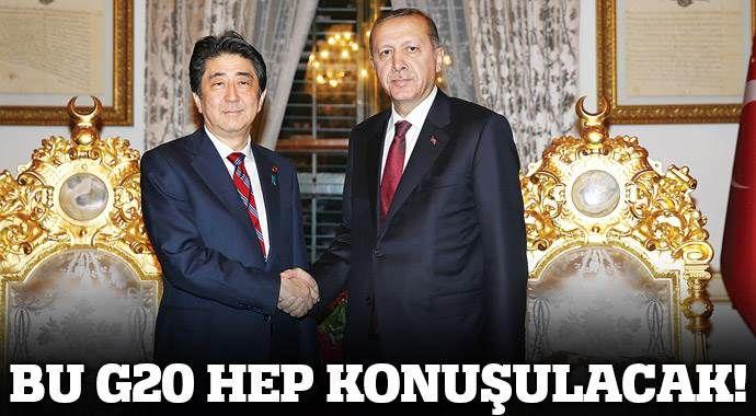 Erdoğan: Bu G20 tarihe geçer