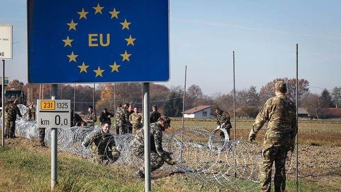 Avusturya sınırlarına dikenli tel çekecek