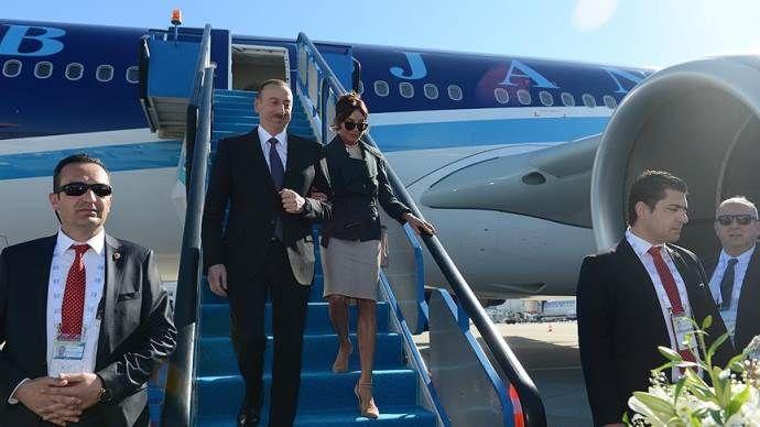 Azerbaycan Cumhurbaşkanı Aliyev Antalya'da