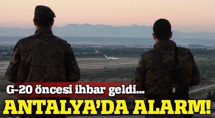 Antalya Havalimanı'nda insansız hava aracı alarmı