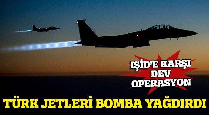 IŞİD'e karşı hava ve kara operasyonu başlatıldı