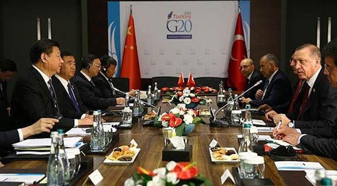 Türkiye ile Çin arasında 7 anlaşma imzalandı