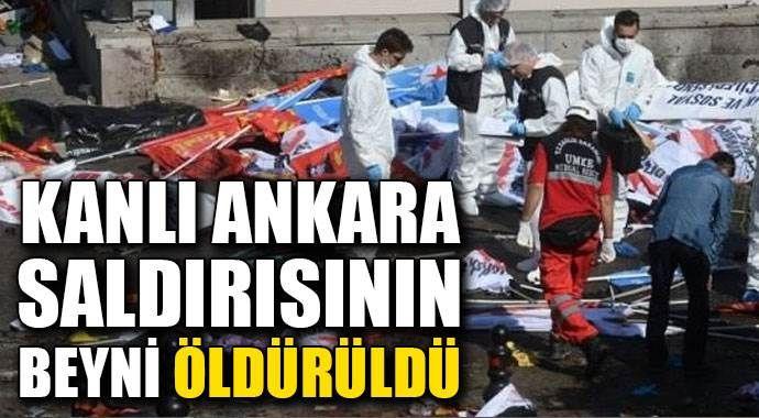 Kanlı Ankara saldırısının beyni öldürüldü