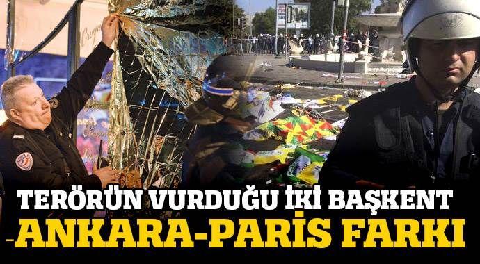 Ankara-Paris farkı