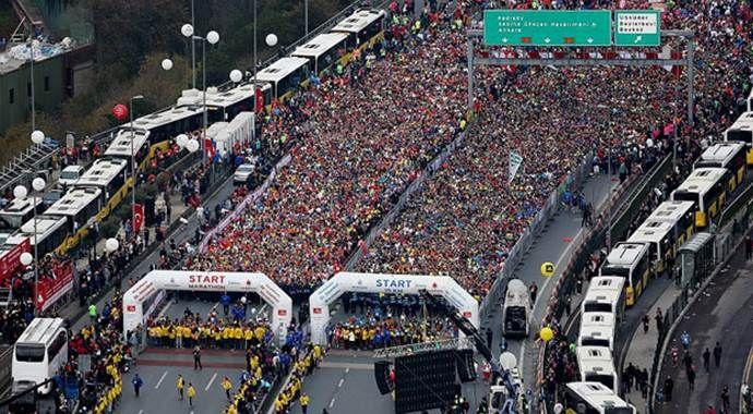 Ve İstanbul Maratonu start aldı