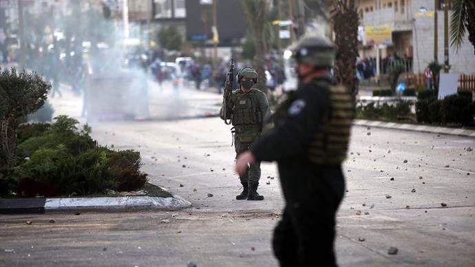 İsrail askerleri 18 Filistinliyi yaraladı