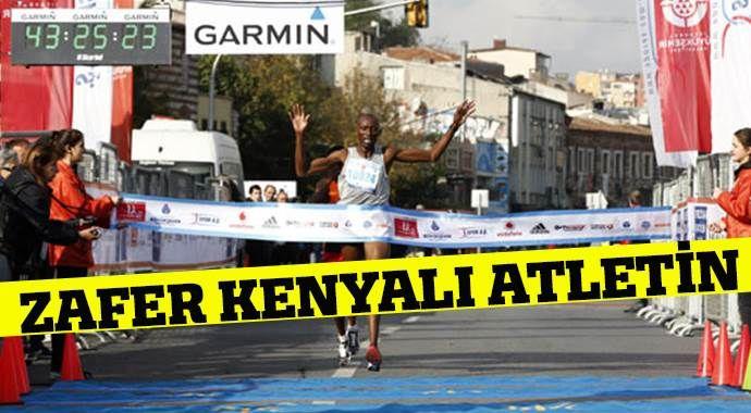 Zafer Kenyalı atletin