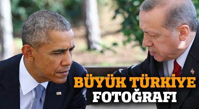 Obama - Erdoğan görüşmesinden kareler