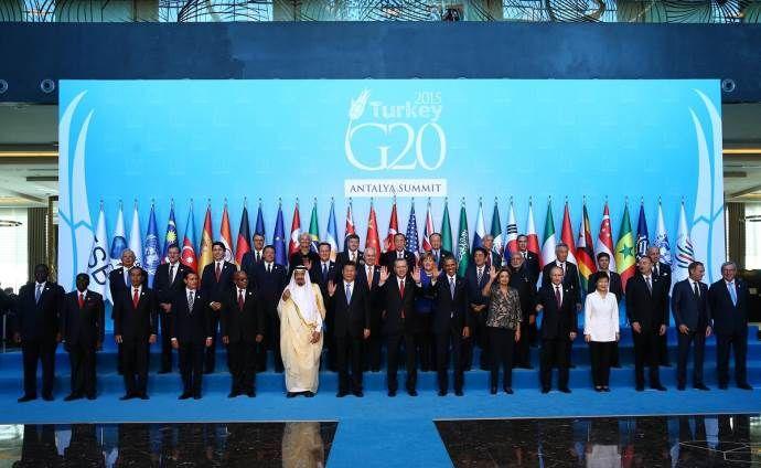 G-20 Zirvesi'nde Erdoğan'ın bayrak hassasiyeti