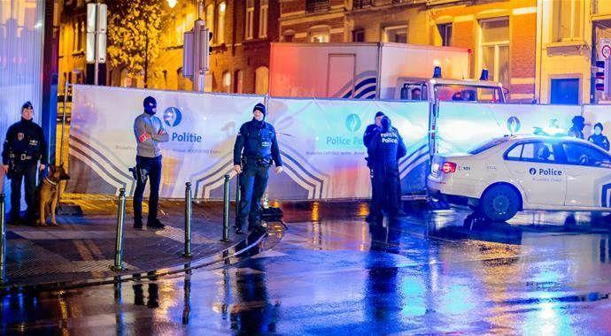 Belçika'da 7 kişi gözaltına alındı