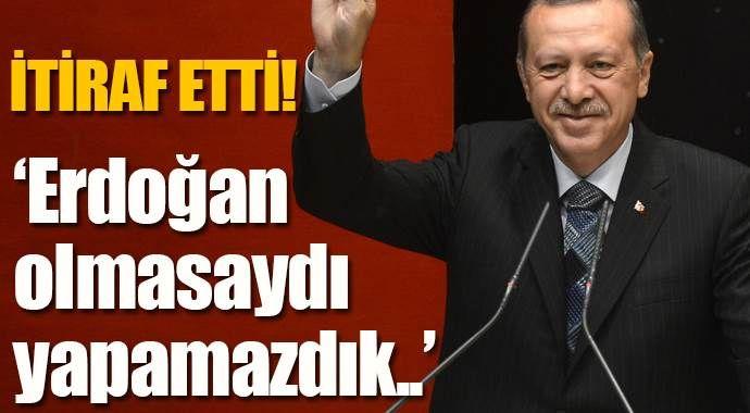 Ahmet Nur Çebi: 'Cumhurbaşkanı Erdoğan, olmasaydı yapamazdık!