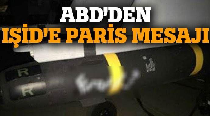 ABD'den IŞİD'e Paris mesajı