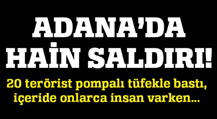 PKK yandaşları marketi ateşe verdi!