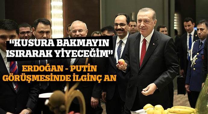 G20'de Erdoğan-Putin buluşması