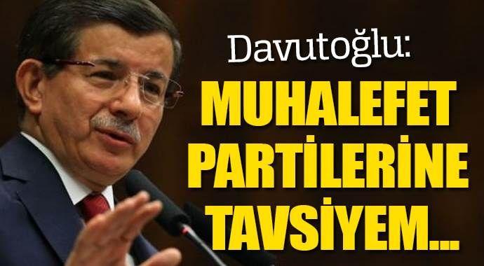Başbakan Davutoğlu Ankara'da konuştu