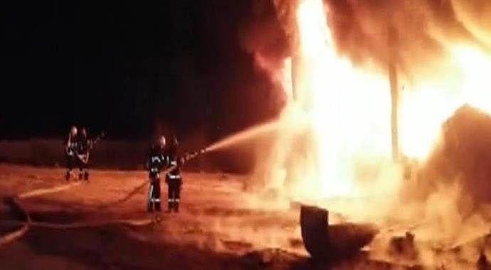 Gaziantep'teki fabrika yangını 6 saat sonra kontrol altına alındı