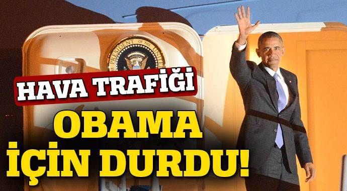 ABD Başkanı Obama Antalya'dan ayrıldı