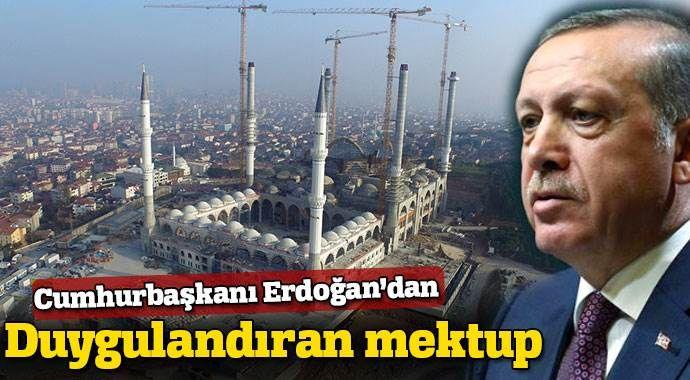 Cumhurbaşkanı Erdoğan'dan duygulandıran mektup