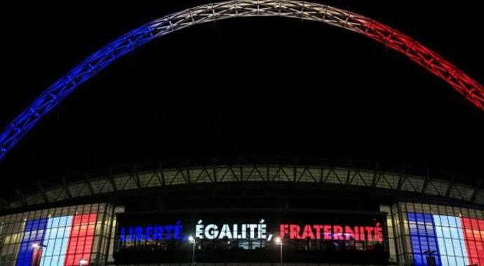 İngilizler Wembley'de Fransa marşını söyleyecek