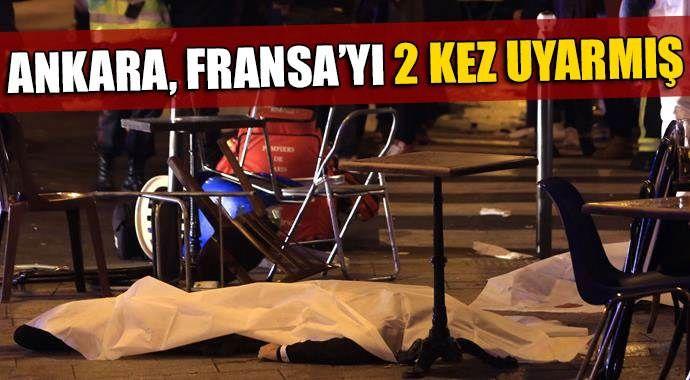 Türkiye Fransa'yı iki kez uyarmış!