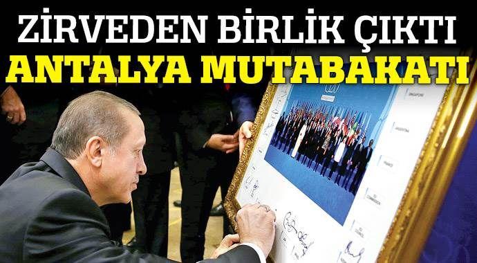 Antalya mutabakatı