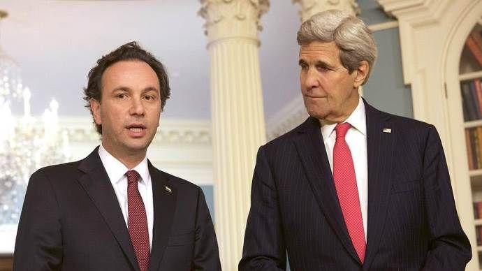 ABD Dışişleri Bakanı Kerry, SMDK Başkanı Hoca ile görüştü