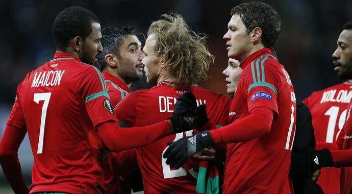Beşiktaş'ın rakibi Lokomotiv Moskova ligde fark yedi