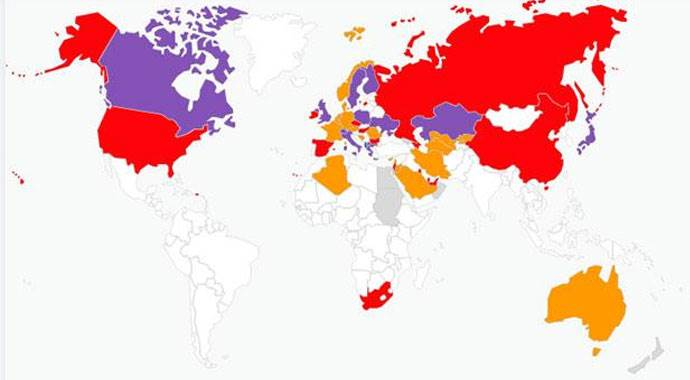 2015 Genel Seçimleri yurtdışı oy oranları