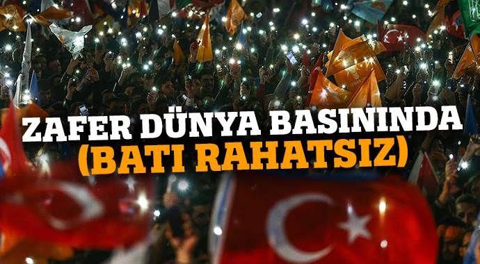 AK Parti'nin seçim zaferi dünya basınında