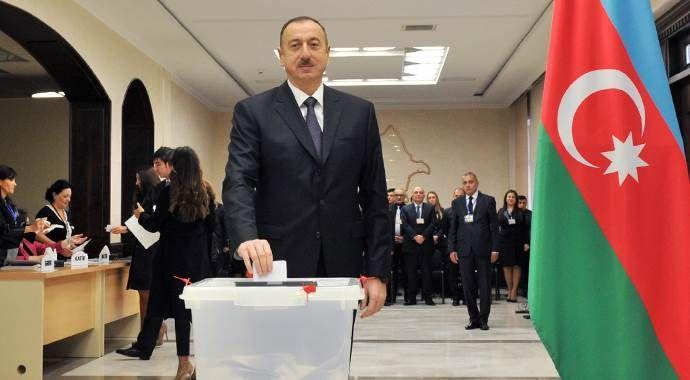 Azerbaycan'da meclis seçimlerini Aliyev'in partisi kazandı