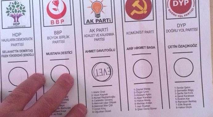"""AK Parti oylarındaki """"ters evetin"""" sırrı!"""