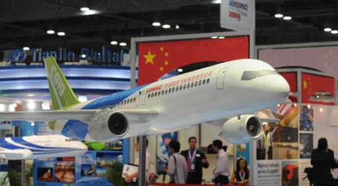 Çin'in ilk yerli uçağı 3 yıl denenecek
