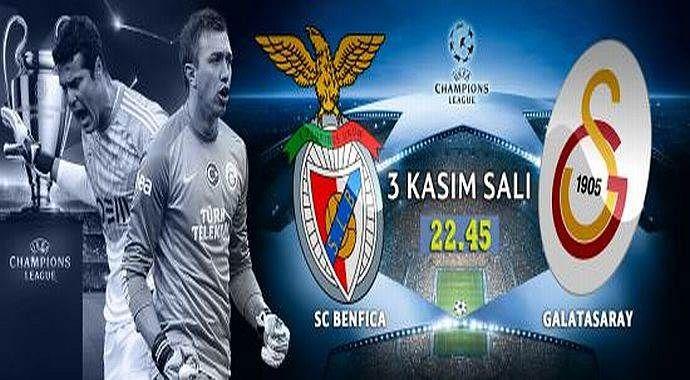 Benfica 2-1 Galatasaray Maçı Özeti ve Golleri (G.Saray, Benfica MAÇI SKORU, GENİŞ ÖZETİ)