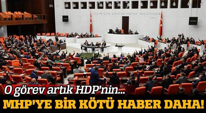 MHP'ye bir şok daha: O görev artık HDP'nin