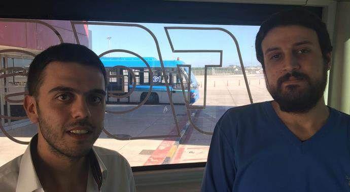 Mısır'da 13 ay tutuklu kalan 2 Türk ailelerine kavuştu