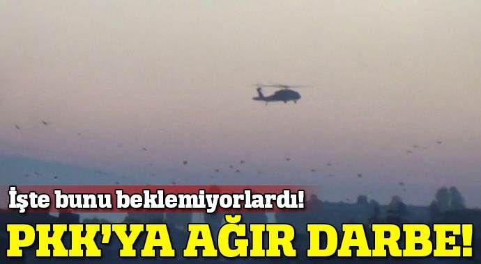 Kars'ta PKK'ya ağır darbe indirildi