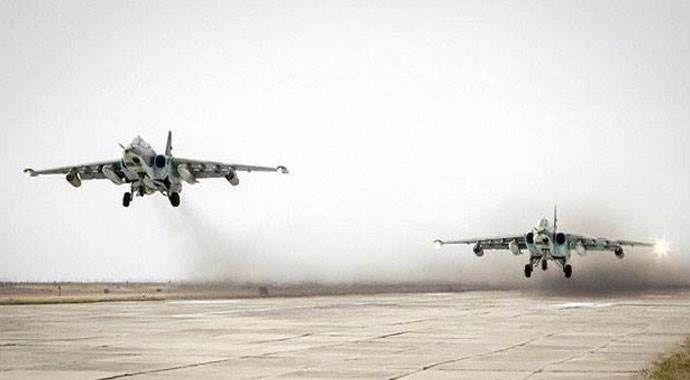 Rusya, Suriye'de toplam 2 bin 84 hedefi vurdu