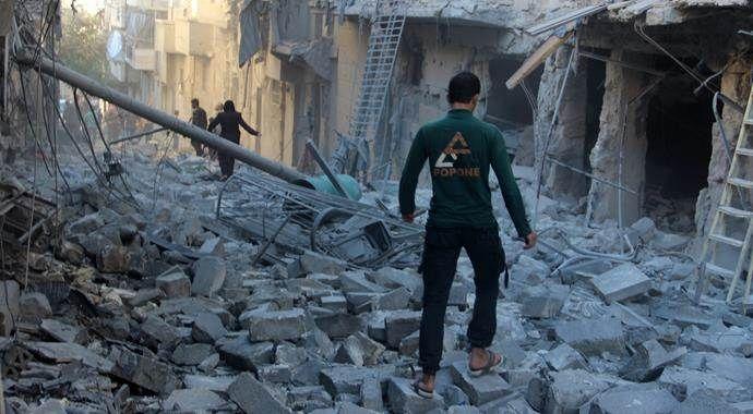 Son bir ayda 123 binden fazla Suriyeli yerinden oldu