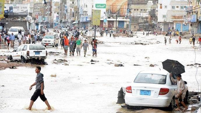 Yemen'de Chapala kasırgası