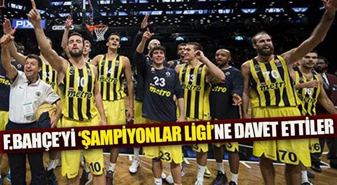 FIBA'dan Fenerbahçe'ye tarihi davet