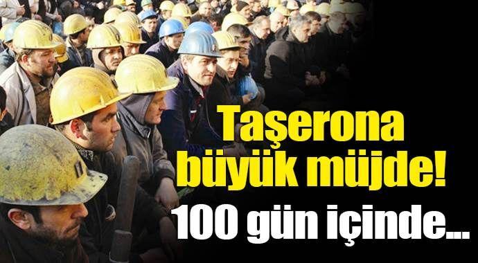 Taşeron işçilere '100 gün' müjdesi