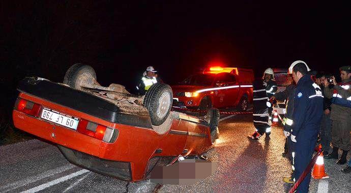 Muğla'da korkunç kaza, feci şekilde öldü!