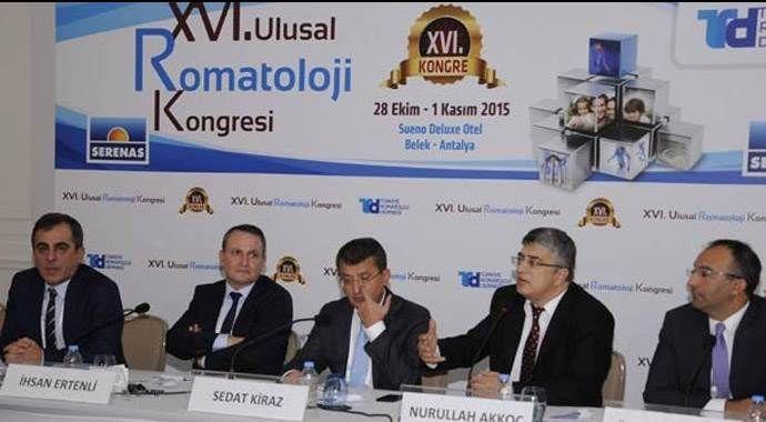 16. Ulusal Romatoloji Kongresi Antalya Belek'te devam ediyor