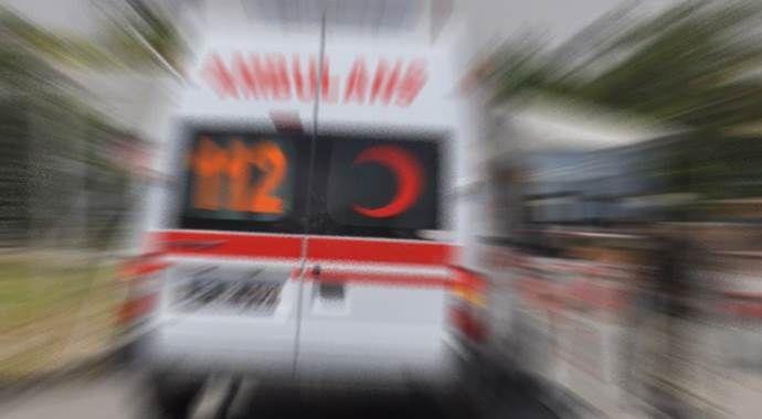 Konya'da patlama, 2 yaralı var!
