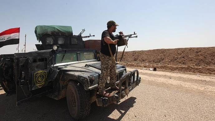 Irak'ta 13 terörist öldürüldü