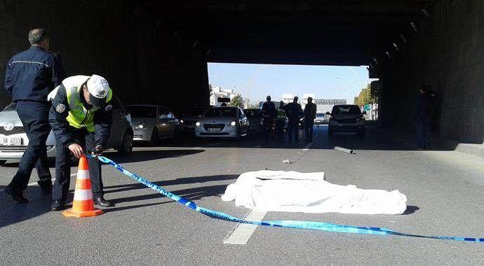 Ankara'daki trafik kazasında 1 kişi hayatını kaybetti